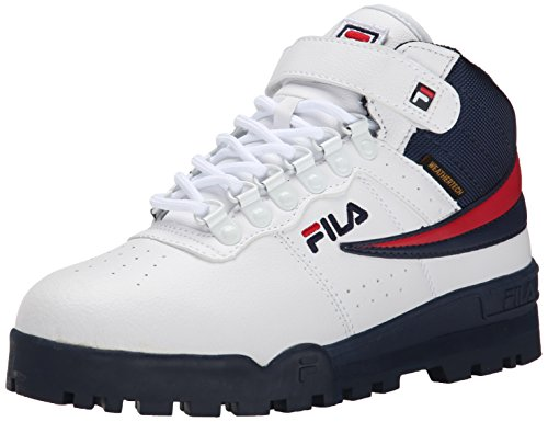 Fila Men's f-13 Weather tech-m, White Navy Red, 9.5 M US
