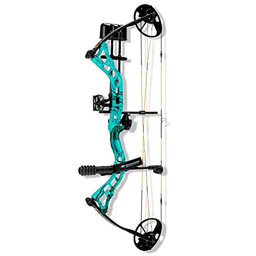 Diamond Archery Infinite 305 Compound Bow - Teal Roots - 70 lbs, Right Hand
