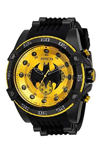 INVICTA 32699 DC Comics Batman Limited Edition Black Silicone Men's Watch