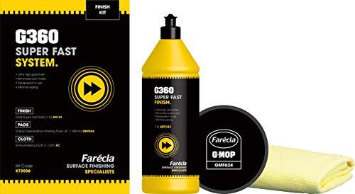 FARECLA G360 KT3006 Farécla G360 Super Fast System Finish Kit, Schwarz, 0