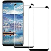 S9 Plus Screen Protector for Samsung Galaxy S9 Plus Tempered Glass [2-PACK]