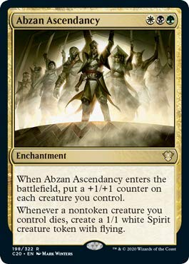 Magic: The Gathering - Abzan Ascendancy - Commander 2020