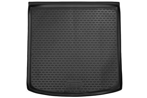 Element EXP.ELEMENT4519B13 Passgenaue Premium Antirutsch Gummi Kofferraumwanne - Skoda Kodiaq, SUV - Jahr: 17-20, schwarz, Passform