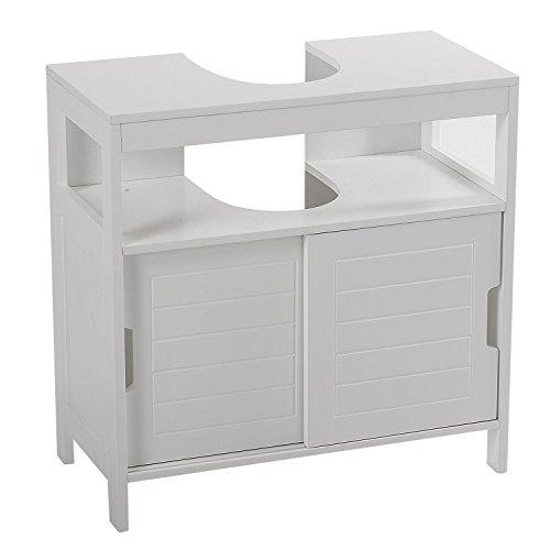 Mueble bajo lavabo Aqua blanco