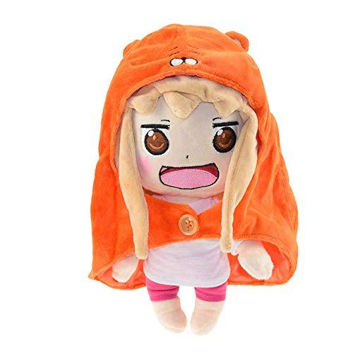 Dirgee 30CM Umaru Chan Felpa Sankaku Cabeza Himouto muñeca Umaru Doma Figuras Regalos de Suave Peluche de Juguete for niños Cosply