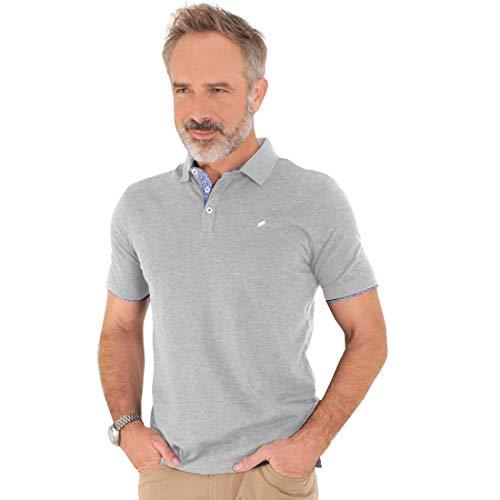 Polo-Shirt Lucas grau Gr. M - (75023 191914 FB:920 GR. M)