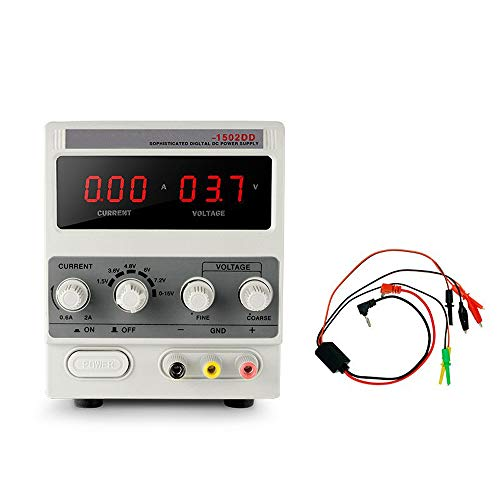 Read About QWERTOUY Laboratory Power Supply Adjustable Transformer Digital 15V 2A AC to DC Current V...