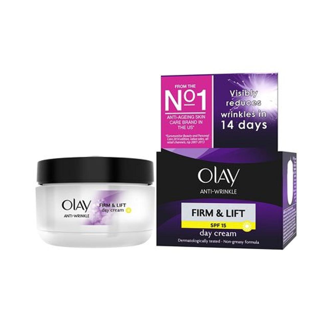 太鼓腹しないステーキOlay Anti-Wrinkle Firm & Lift Moisturiser Day Cream Spf15
