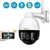 Jennov Wireless WiFi Security Camera IP PTZ Camera Outdoor