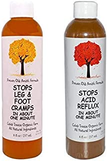 Amish Remedy for Leg Cramps and Acid Reflux with Apple Cider Vinegar Naturally Stops Leg and Foot Cramps and Stops Acid Re...