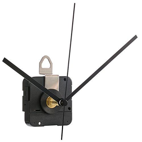 Hicarer 28 mm Lange Welle Quarzuhr Uhrwerk Teile Reparatur-Kit (Schwarz)