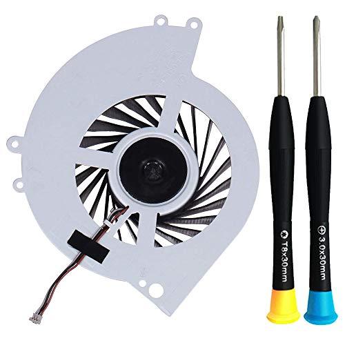 MMOBIEL Ventilador de refrigeración interna KSB0912HE-CK2MC Reemplazo para PlayStation PS4 CUH-12xx Incl. TR8 y (+) Destornilladores