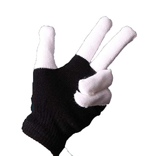 PZXY 852 Winterhandschuhe Bunte Leuchten Zeigen Phantasie mit LED Licht blinkende Handschuh