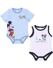 Cerdá - Pack de Regalo Bebe Niño Mickey Mouse - Licencia Oficial Disney