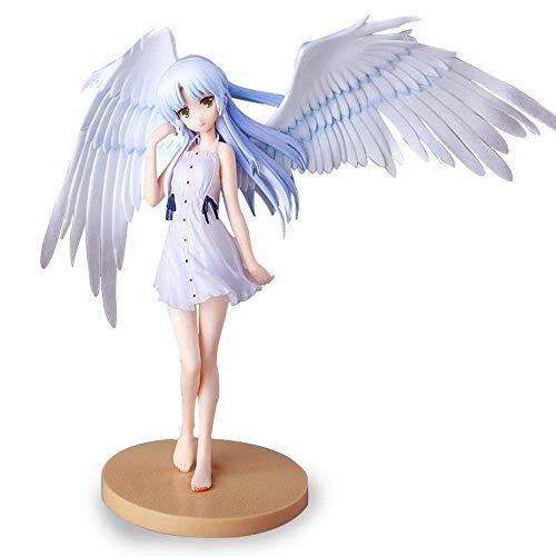 W-HUAJIA ¡Angel Beats!Tachibana Kanade Angel Angel Figura 18cm-Figurine Decoración Adornos Coleccionistas Animaciones de Juguete Modelo de Personaje Decoración de Pasteles (Color : Angel)