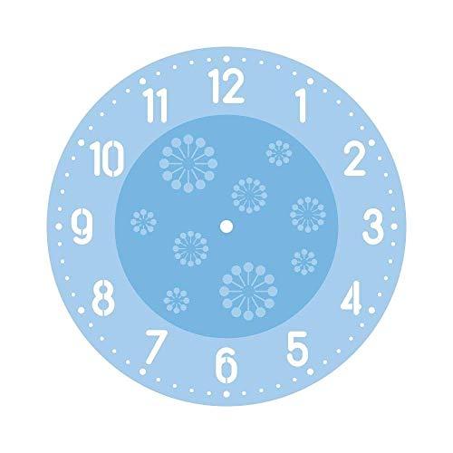 Rayher 38653000 Schablonenset f. Uhren- arabisch, 1xZiffern, 1xMotiv,