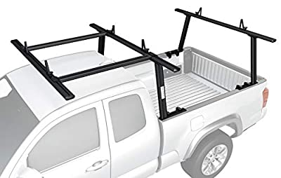 AA-Racks Model APX25 Extendable Aluminum Pick-Up Truck Ladder