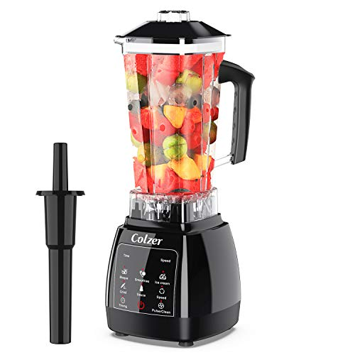COLZER Blender for Shakes and Smoothies, Professional Countertop Blender