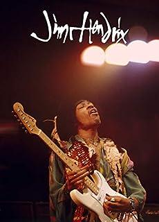 Kopoo Jimi Hendrix Poster Fire Rare HOT New Print Image Photo, 24x36