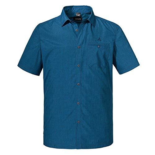 Schöffel Herren Shirt Bregenzerwald Hemd, Directoire Blue, 54