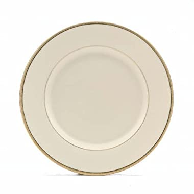 Lenox Tuxedo Gold Banded Ivory China Dinner Plate