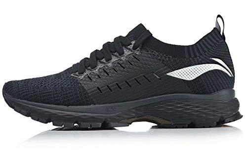 LI-NING Stability Shoes Professional Running Shoes Men Marathon Technology Cloud LITE Sport Shoes Sneakers Black ARZN001 US 10