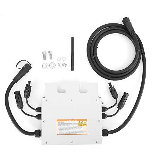 EVTSCAN último SG600MD 120V 230V 700W Micro inversor solar Inversor de red impermeable 2.4G Comunicación