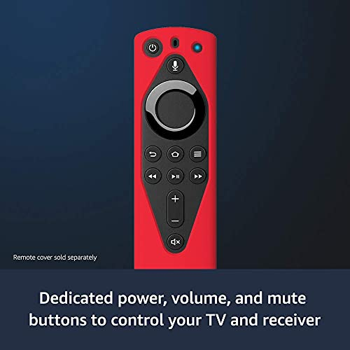 Fire TV Stick 4K streaming device with Alexa Voice Remote (includes TV controls) | Dolby Vision