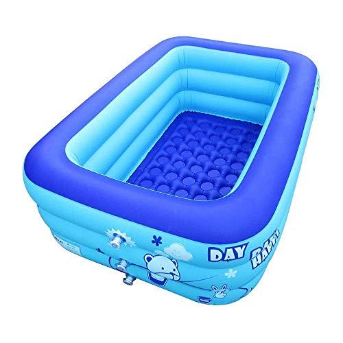 WSJTT Bañera inflable para bañera, piscina, baño, baño con bomba de aire eléctrica (48 pulgadas) (color: 70 pulgadas)