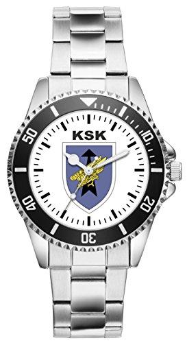 KIESENBERG Uhr - Soldat Geschenk Bundeswehr Artikel KSK Wappen 1130