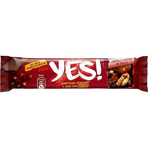 24 Riegel a 32g Yes Cranberry & Dark Choc Nut Bar