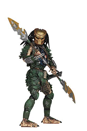 NECA - Predator - 7' Scale Action Figures - Series 18 - Broken Tusk Predator