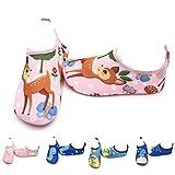 LYworld Chaussures de Plage Enfant Chaussures d'eau Enfant Bébé ChaussuresFilles Garcon Chaussures Aquatiques Chausson pour Piscine et Plage ,Cerf,32/33 EU (Taille Fabricant: 34/35)