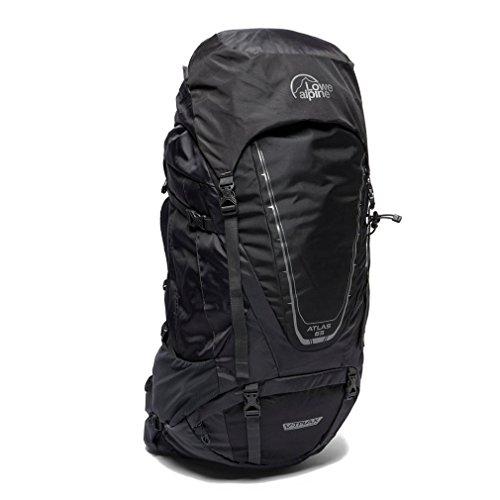 Lowe Alpine LA ATLAS 65:75 Daypack Backpack Travel Bag, Black, One Size