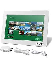 UNIROI Monitor HDMI de 10.1 Pulgadas, HD Pantalla LCD 1024 * 600 con Carcasa Ultradelgada para Todo Dispositivo con HDMI Entrada, Raspberry Pi 4 3 2 Modelo B B+ A A+