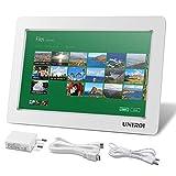 Monitor HDMI de 10.1 Pulgadas, HD Pantalla LCD 1024 * 600 con Carcasa Ultradelgada para Todo Dispositivo con HDMI Entrada, Raspberry Pi 3 2 Modelo B B+ A A+ UNIROI (Monitor HDMI de 10.1 Pulgadas)