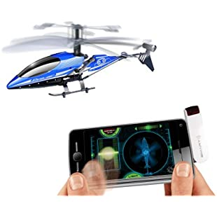 Silverlit SmartLink Sky Wizard 3-Channel Remote Control Gyro Helicopter (Assorted Colours):Mytools