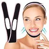Mimeio Correa Adelgazante Facial, Cinturón De Estiramiento Facial, Correa De Barbilla De Elevación V Line Para Mujeres Antiarrugas Elimina La Flacidez Lifting De La Piel Reafirmante