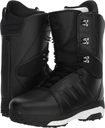 adidas Tactical Adv Snow Boots Black/Black/White Mens Sz 10.5