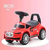 Little Chime - Kids Ride On Push Car Toy for Babies | Swing