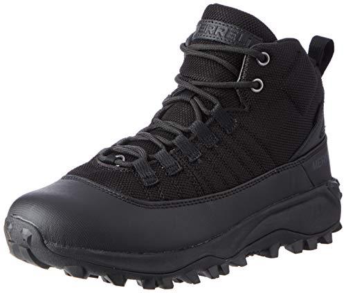 Merrell Herren Thermo ALSEK Approach MID WP Walking-Schuh, Schwarz/Karbon, 47 EU