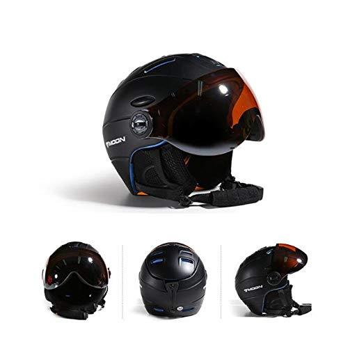 Goggles Skiing Helmet integrally-molded PC + EPS Skihelm voor volwassenen Outdoor Sports Snowboard