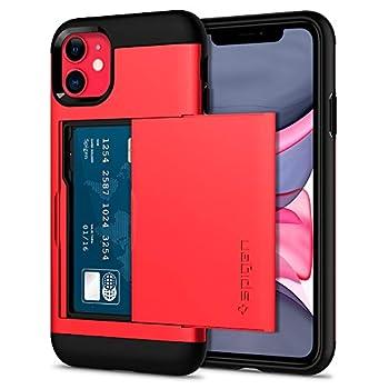 Spigen Slim Armor CS Designed for iPhone 11 Case  2019  - Red