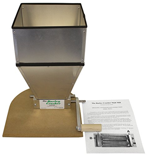 Barley Crusher W/ 15 Lb.-Capacity Hopper