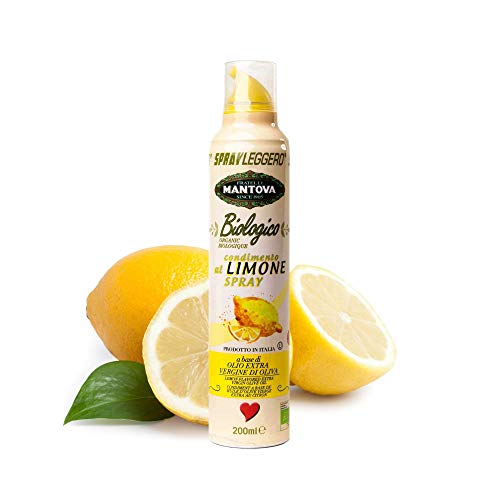 Limone Spray in Olio Biologico Extravergine di Oliva