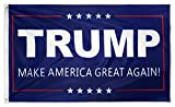 DFLIVE Donald Trump for President 3x5 Feet Make America Great Again Printed Flag with Grommets