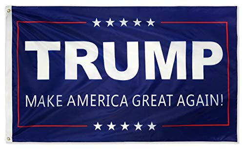DFLIVE Donald Trump for President 3x5 Feet Make America Great Again 2024 Election Flag with Grommets