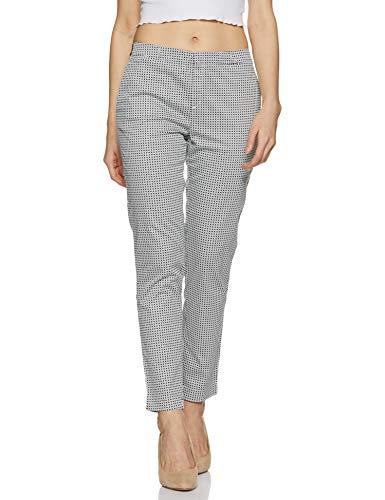 US Polo Association Women's Trouser Suit (UWTR0650_USPA Black_30)