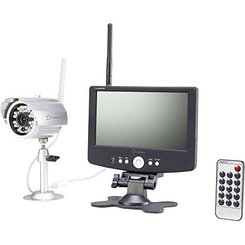 Renkforce 37370A1 Funk-Überwachungskamera-Set 4-Kanal mit 1 Kamera 1280 x 720 Pixel 2.4 GHz