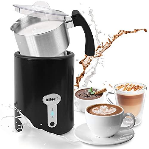 montalatte elettrico 3 in 1 Duronic MF500 Montalatte elettrico 3 in 1 | Schiumalatte automatico 500 ml | Scaldalatte 500 W | Ideale per caffè